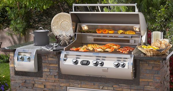 The four areas of an outdoor kitchen for Gasgrill fur outdoor kuche