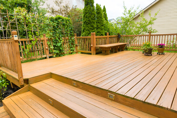 Patio With A Deck